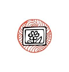 Zentangle icon pictures vector