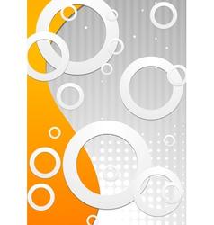 Technology bright design vector image