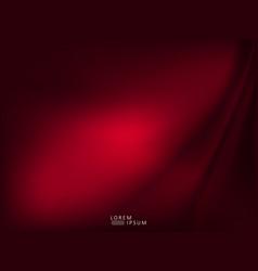 Abstract exquisite dark red smooth wavy design vector