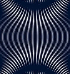 Abstract lined background optical style Chaotic vector image