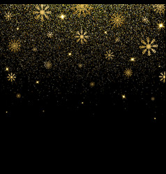 christmas background with glitter and shining vector image
