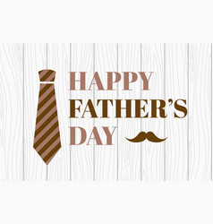 Happy fathers day banner vector