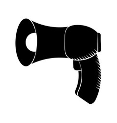 Megaphone loudspeaker sound marketing pictogram vector