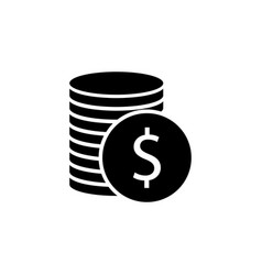 money pennies icon element of casino icon premium vector image