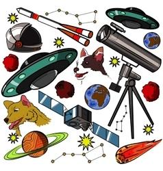 Set space elements vector