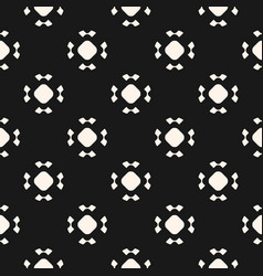 simple seamless pattern with rounded figures vector image