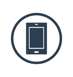 Tablet flat icon vector