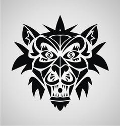 Demon Tribal vector image vector image