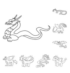 Asian and medieval icon vector