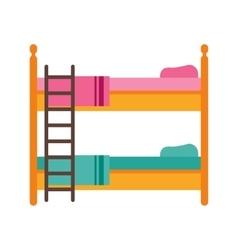Childrens Bedroom vector image