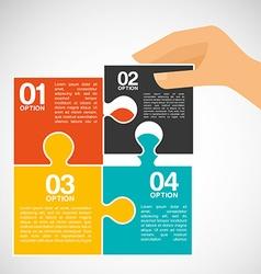 collaborative concept design vector image