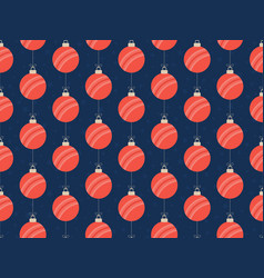 merry christmas cricket seamless horizontal vector image