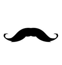 mustaches icon vector image