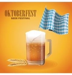 Oktoberfest celebration of Germany design vector