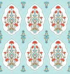 Vintage floral pattern vector