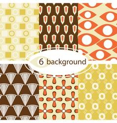 Vintage patterns vector