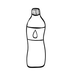 Natural water bottle vector
