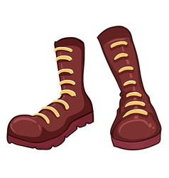 A pair of boots vector image