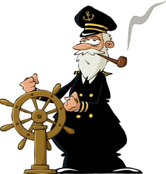 captain vector image vector image