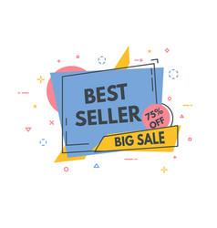 line sale banner vector image