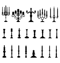 Candlesticks vector