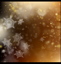 christmas golden holiday glowing background eps vector image