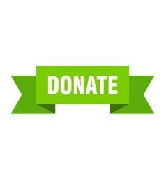 Donate vector