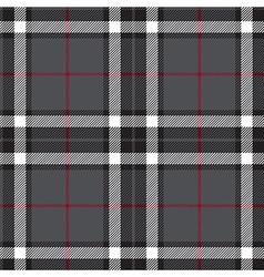 Gray plaid seamless vector