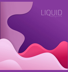 Liquid background vector