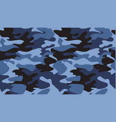 seamless camouflage pattern background classic vector image