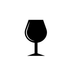 wineglass icon element of casino icon premium vector image