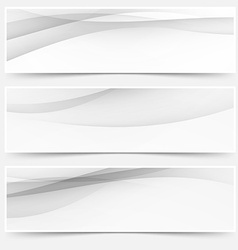 Header soft abstract line web collection vector image vector image