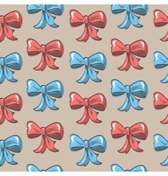 Bow Background vector image