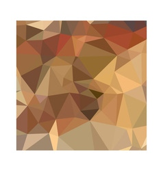 Camel Brown Abstract Low Polygon Background vector image