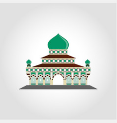 masjid - islamic mosque concept -islamic praying vector image