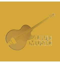 slot as guitars vector image