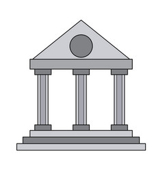 university building symbol vector image