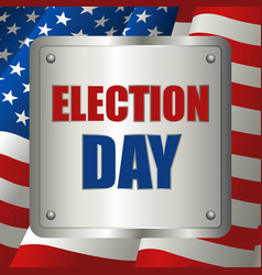 Usa election day symbol vector