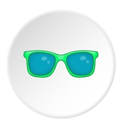 Glasses icon cartoon style vector image vector image