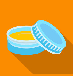 after shave creambarbershop single icon in flat vector image