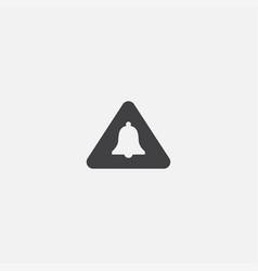 Alert base icon simple sign alert vector