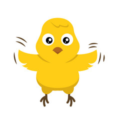 Cute chick vector