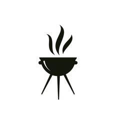 grill graphic design template isolated vector image
