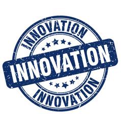 Innovation stamp vector