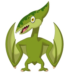 pterodactyl cartoon vector image