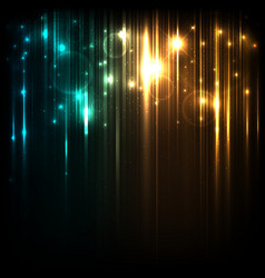 Background with magic lights vector image vector image