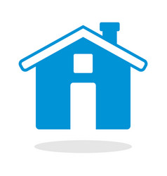 icon of a house for website or mobile application vector image vector image