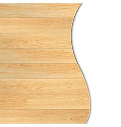 Wood poster vector