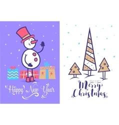 Christmas greeting card background poster vector