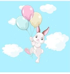 Birthday Bunny vector image vector image